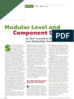 Modular Level Design