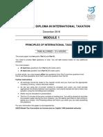 December 2018 Module 1 (question paper)
