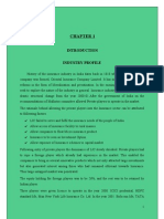 Project Report on IDBI Fortis