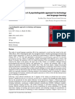 A Psycholinguistic Approach to Technology and Lang