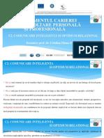 Managementul carierei_Comunicare inteligenta_Curs_Spiru Haret