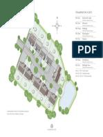 Hambrook Gate Site Map