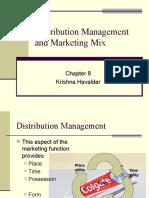 8 Distribution Management and Marketing Mix