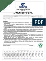 Prova objetiva 395 engenheiro civil
