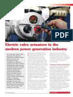 Electric Actuator_Rotork_for DeNox_BOFA,SOFA,OFA
