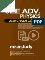 Crash Course JEE Main Advanced Sample eBook