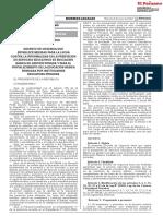 Decreto de urgencia que establece medidas para la lucha contra la informalidad en la prestación de servicios educativos