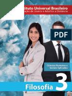 Capa - Filosofia 3ª Série