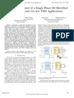 design of single phase Ac inverter