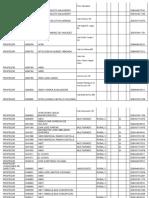 plazas primaria 2020