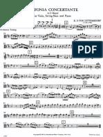 Sinfonia concertante viola
