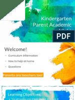 parent academic night