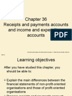 receipts and payments