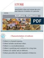 Influence of Culture and subculture TOPIC 1