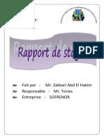 Rapport+de+stage+SOFRENOR