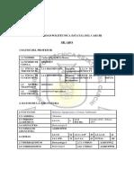 FORMATO MICROCURRICULAR SILABO (BIOTECNOLOGIA II REDISEÑO)
