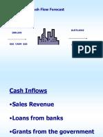CashFlow Forecast Presentation