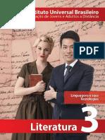 Capa - Literatura 3ª Série