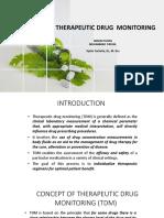 THERAPEUTIC DRUG  MONITORING 7-1-20
