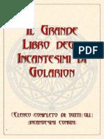 [Pathfinder GDR] Il grande libro degli Incantesimi di Golarion
