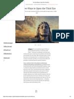 The Two Ways to Open the Third Eye.pdf