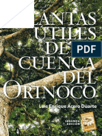 ACERO DUARTE-Plantas Útiles de La Cuenca Del Orinoco (2 Ed) (INCOMPLETO) (Xxxx) Zzz