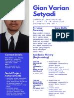 CV Kerja Praktik