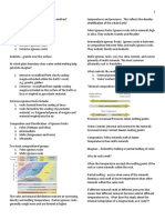 Notes on Earth Science for Senior High School