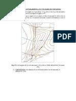 CALCULO DE  LOS PARAMEROS α,d'b y radio de curvatura