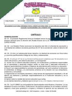 Reglamento del municipio escolar.