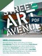 Street Art Avenue 2019