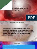 ASUHAN KEPERAWATAN ABORTUS