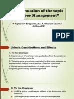 labor-Management