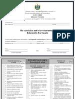 Certificado de Educacion Parvularia 2019