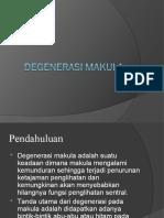 Degenerasi Makula