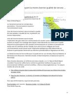psychomedia.qc.ca-LÉtat américain ayant la moins bonne qualité de vie est  la Californie