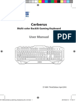 Cerberus Keyboard Manual