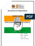 Term Paper of Business Environment by Roll No. 17