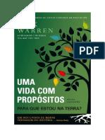 Baixar Uma Vida com Propósitos Livro Grátis (PDF ePub Mp3) - Rick Warren