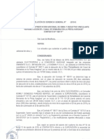 PROYECTO DE RESOLUCIÒN