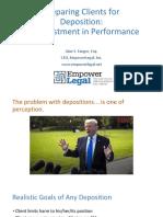 CLEpresentation Deposition