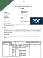 Sílabo Administración logistica