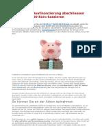 CHECK24 - Kredit oder Baufinanzierung abschliessen und bis zu 400 Euro kassieren