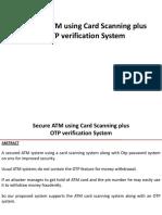 ATM card OTP Verification