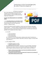 psychomedia.qc.ca-18 médicaments antidouleurs et de rhumatologie plus dangereux quutiles selon Prescrire risques et alt