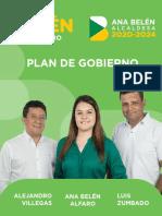 Programa de Gobierno Belén Ana Belén Alfaro