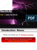 electricity and static electricity for 8th grade review