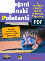 Postojani organski polutanti u domaćim kokošijim jajima iz zemalja Zapadnog Balkana