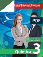 Capa - Química 3ª Série