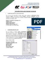 Transferncia de datos dela Estacion Leica Flexline TS02-06-09